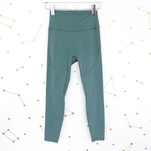 P'tula • Basil Green High Rise Shelby Leggings